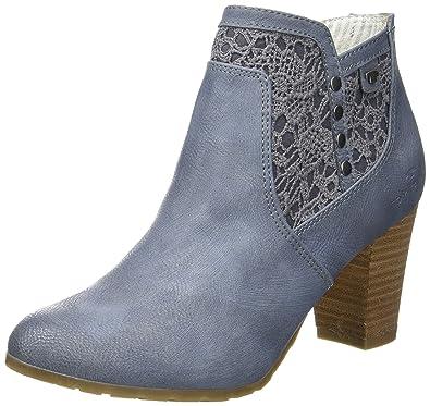 2790005, Bottines Classiques Femme, Bleu (Jeans), 41 EUTom Tailor