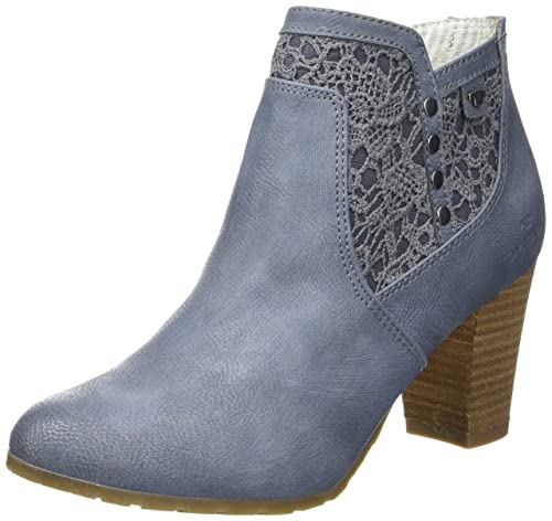 TOM TAILOR 2790005, Botines para Mujer, Pantalon De Mezclilla (Jeans), 40 EU: Amazon.es: Zapatos y complementos