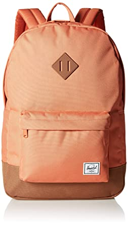 9d554c4f575e Herschel Heritage Backpack Apricot Brandy Saddle Brown One Size