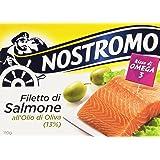 Nostromo - Filetto di Salmone dll'Olio di Oliva, Ricco Di Omega 3 - 2 confezioni da 110 g [220 g]