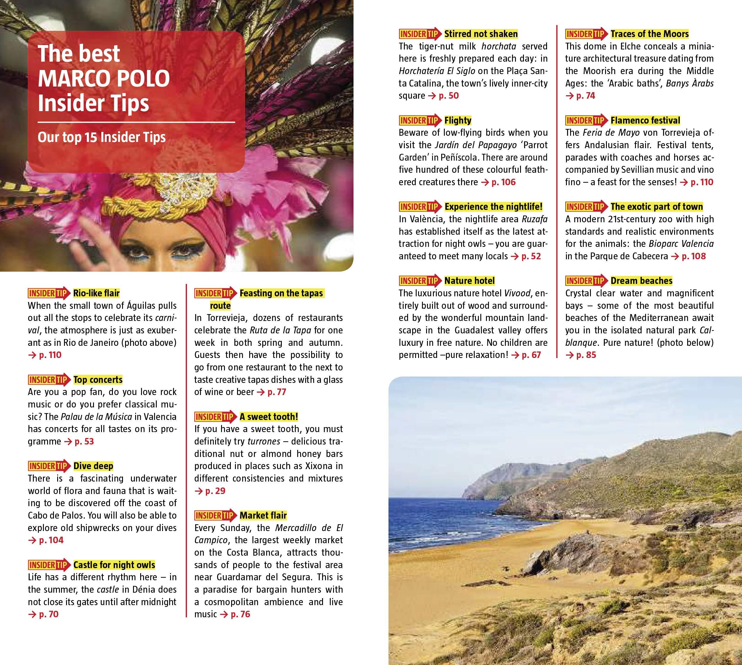 Costa Blanca Marco Polo Pocket Travel Guide - with pull out map (Marco Polo Pocket Guides): Marco Polo Travel Publishing: 9783829757553: Amazon.com: Books