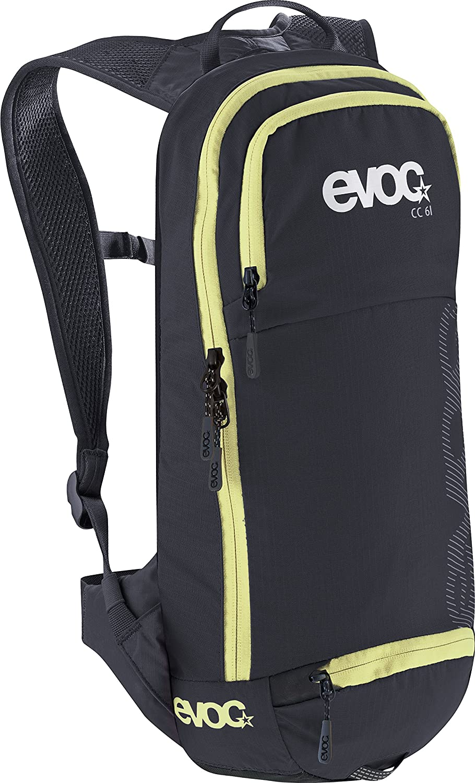 Evoc + - Mochila ( sistema de hidratación ), color negro, talla 6 L/2 L EVOC12217-101