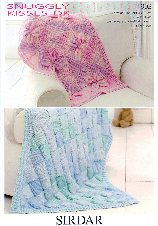King Cole DK Baby Double Knitting Pattern Babies Pram & Cot Blanket ...