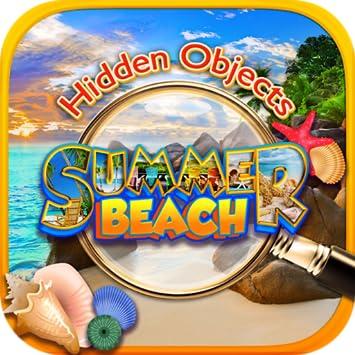 Amazon Com Hidden Objects Summer Beach Time Vacation Travel