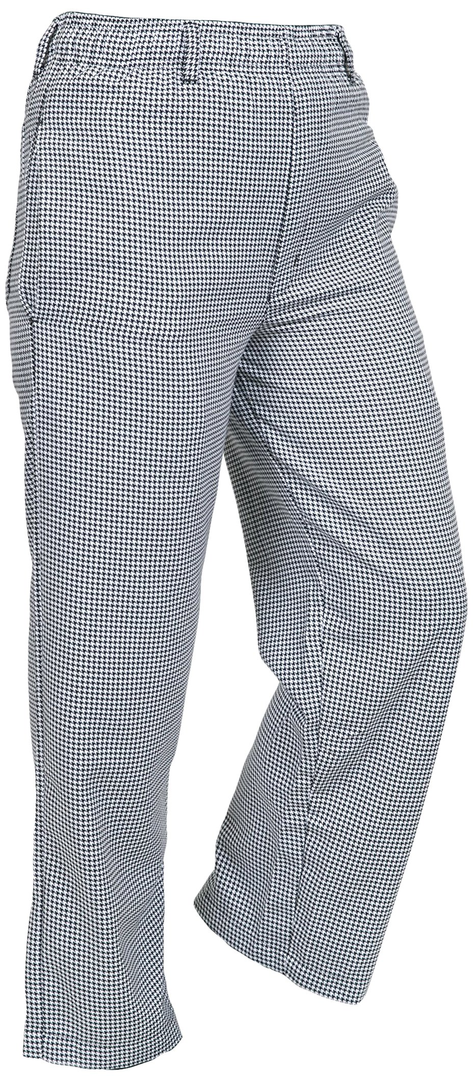 Mercer Culinary M61050HT7X Genesis Men's Chef Pant in Hounds Tooth, 7X-Large, Black/White by Mercer Culinary