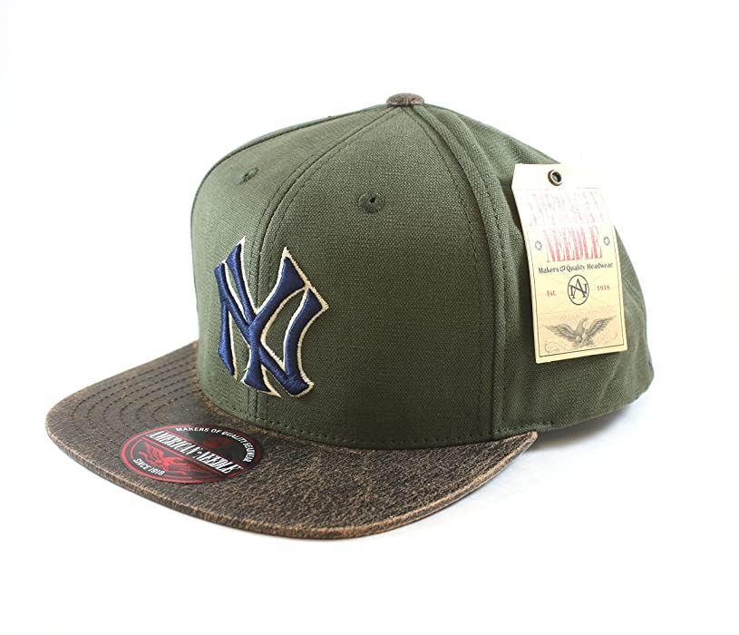 3326547052d02 ... closeout mlb new york yankees retro logo snapback hat by american needle  at amazon mens clothing