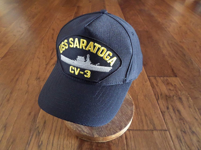 USS Saratoga CV-3 Hat USN Ship Baseball Cap