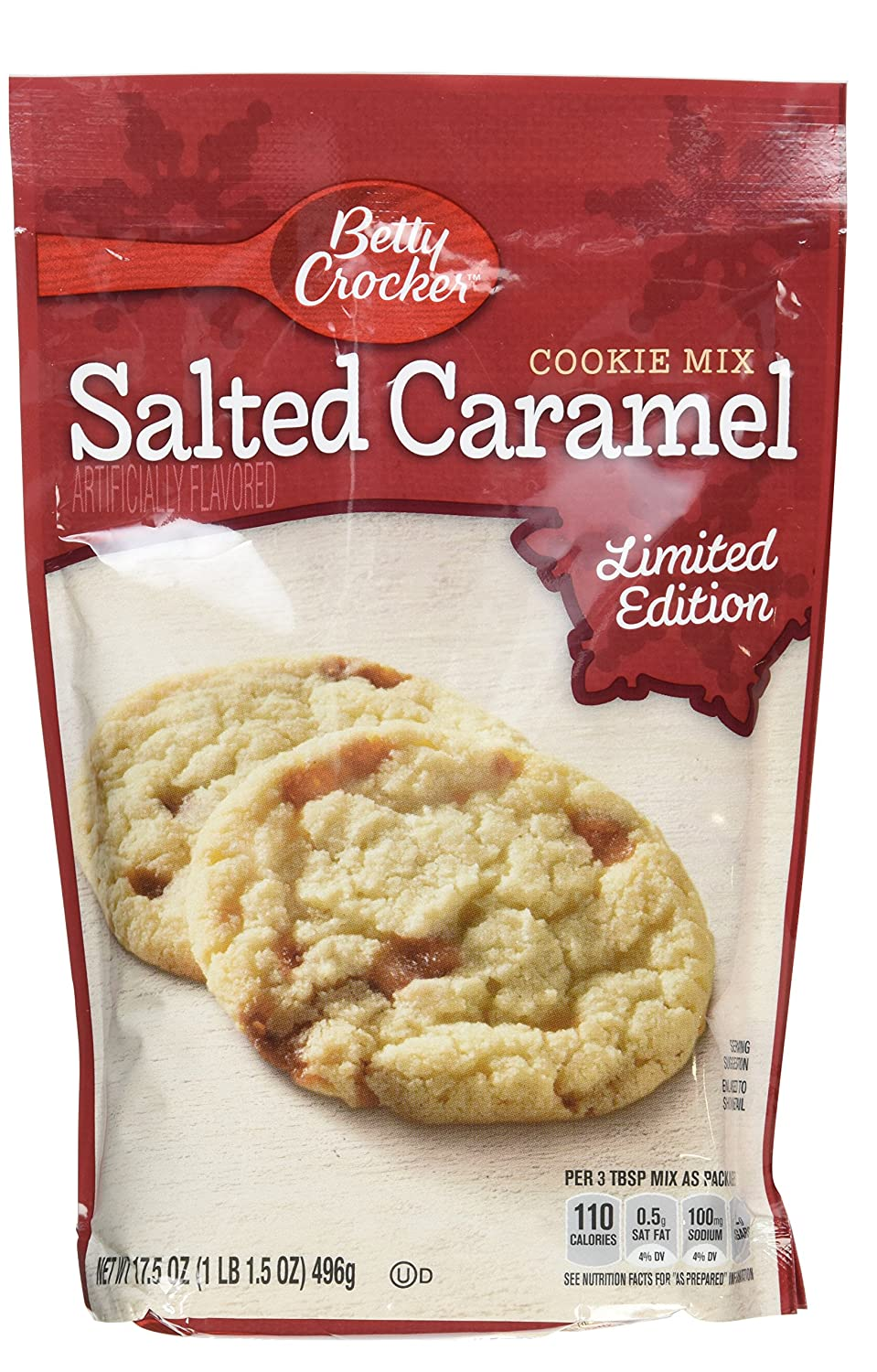Amazon.com : Betty Crocker Limited Edition Salted Caramel Cookie ...