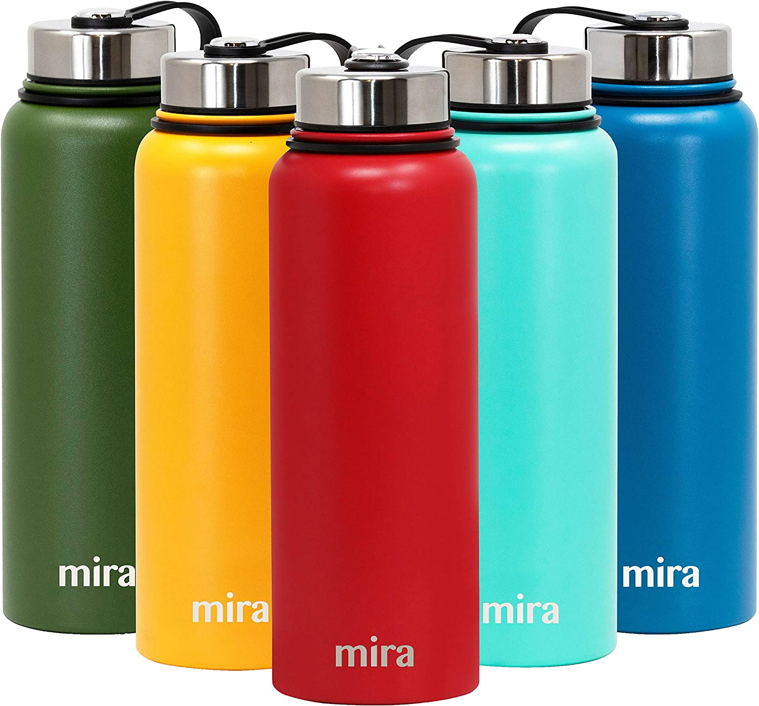 MIRA Insulated Wide Mouth Water Bottle