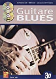Tauzin Bruno Guitare Blues En 3D Guitar Book/Cd/Dvd