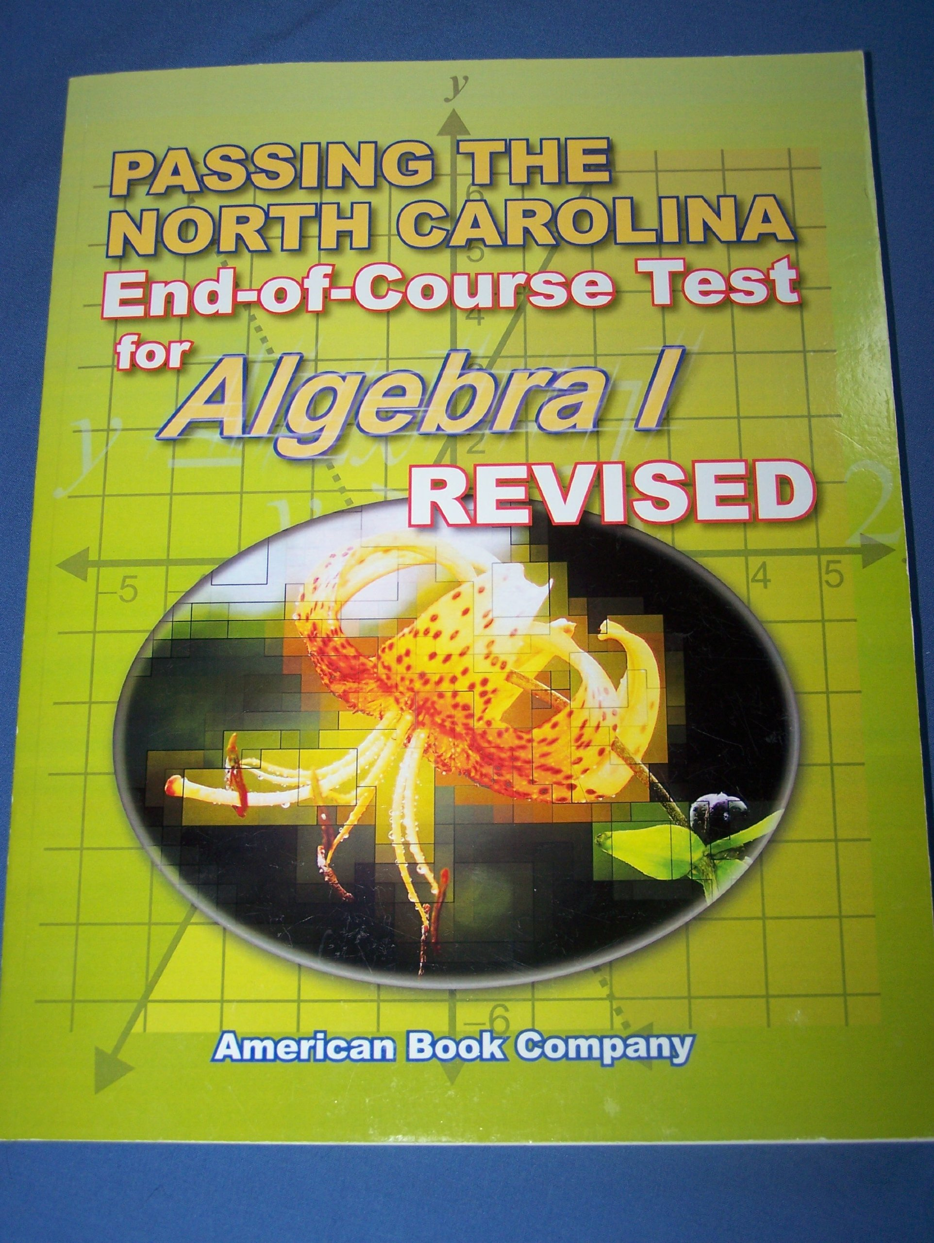 Download Passing the North Carolina End-of-Grade Test for Algebra 1 (Revised) pdf