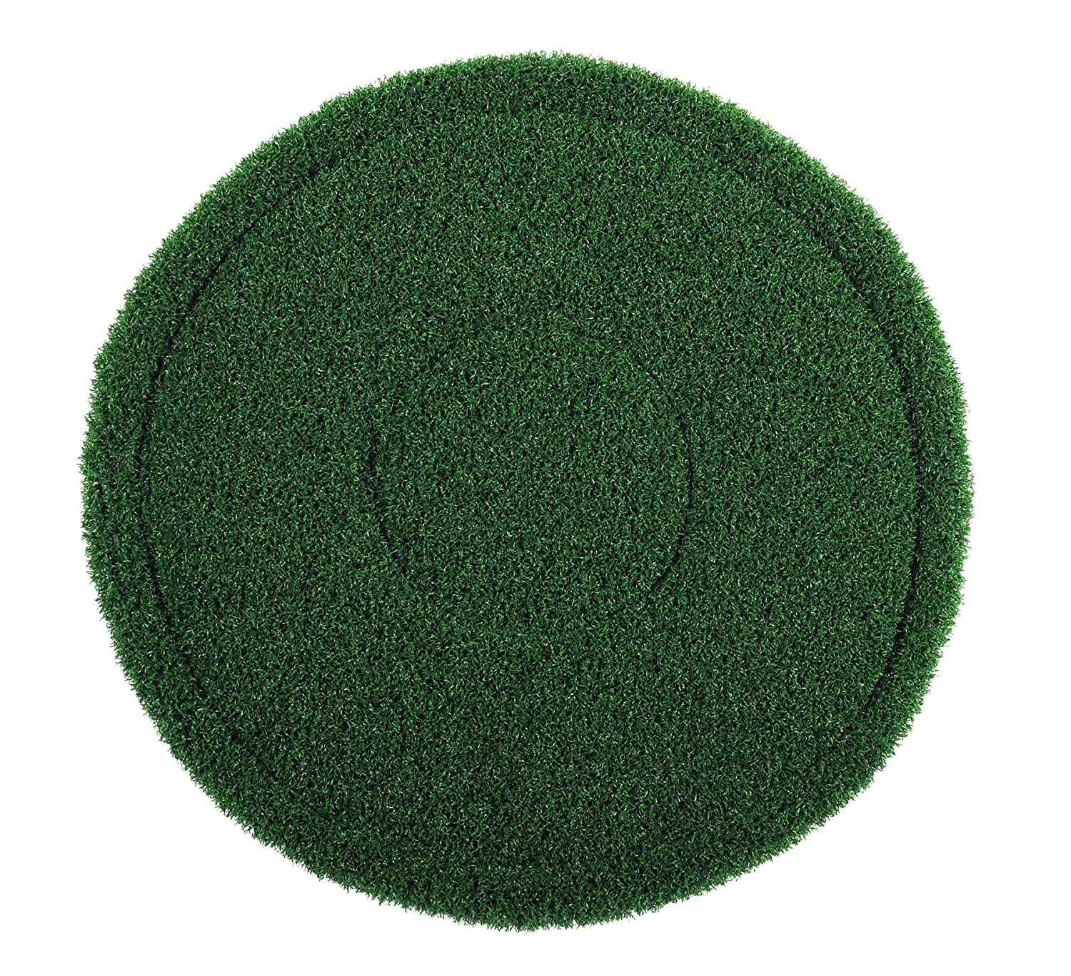 Americo Manufacturing 402908 Turfscrub Single-Sided Coarse Bristle Brush Type Floor Pads (4 Pack), 8'