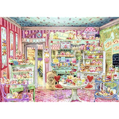 Ravensburger The Candy Shop Jigsaw Puzzle (1000 Piece) by Ravensburger: Juguetes y juegos