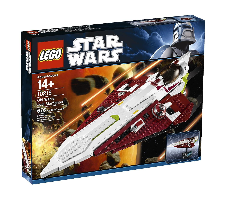 Amazon Lego Star Wars Obi Wans Jedi Starfighter 10215 Toys