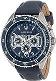 Maserati - R8851101002 - Montre Homme - Quartz Chronographe - Bracelet SimiliCuir Bleu