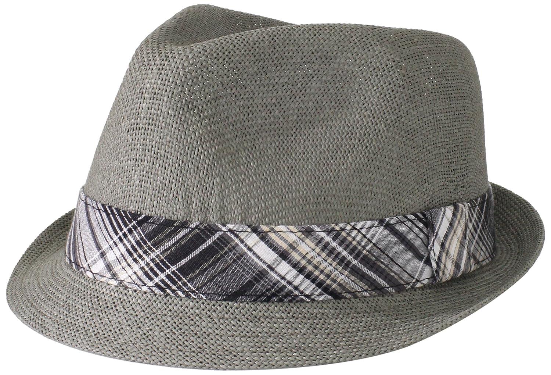 Cuba Vera Mens Cubavera Pewter Toyo Paper Fedora Hat