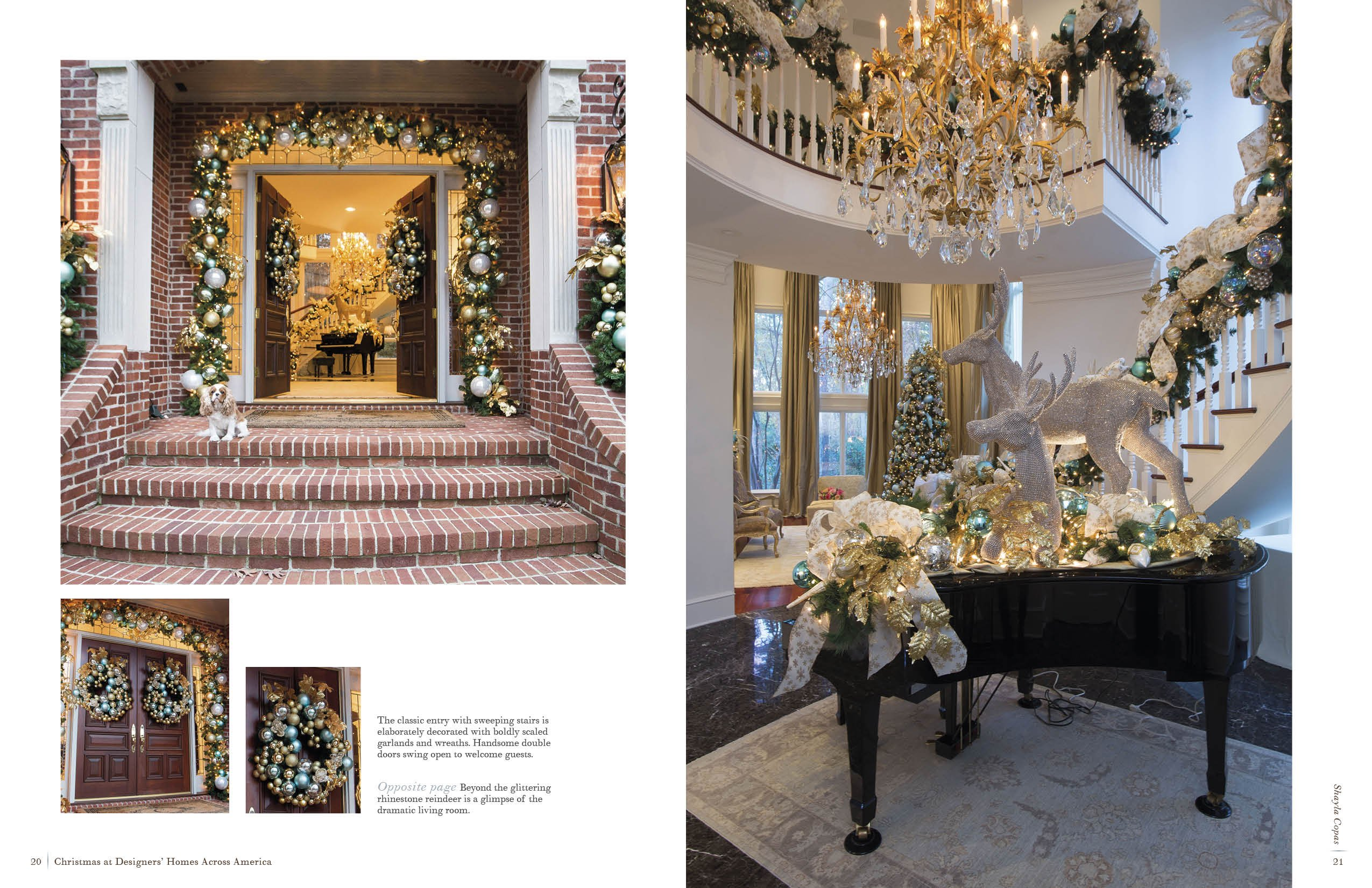 christmas at designers homes across america katharine mcmillan patricia mcmillan 9780764351631 amazoncom books - Designers Homes