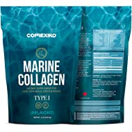 CORREXIKO Premium Marine Collagen Peptides - Large Pack (425g) Wild Caught Fish from Canada (Not Farmed), Protein Powder for Skin, Hair, Nails, Joints & Bones & Digestive Health - Hydrolyzed
