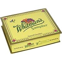 Whitman's Sampler Assorted Chocolate 24 Ounce Box Whitman's Sampler Assortment Box; An Assortment of Nutty, Chewy, Creamy, Crispy Milk Chocolate Covered Candies and Dark Chocolate Covered Candies