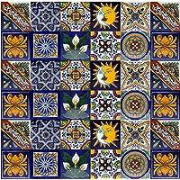 Cerames azulejos decorativos de colores de la pared