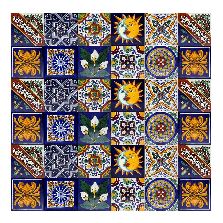 Cerames azulejos decorativos de colores de la pared Pablo ...