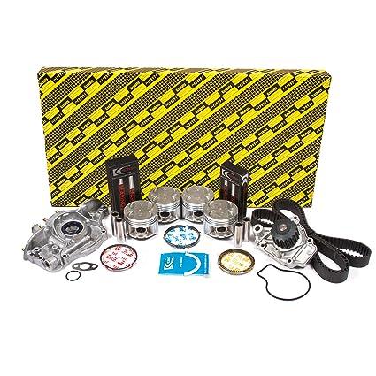 Pistons and Rings Fits 88-95 Honda Civic CRX Civic del Sol 1.5L SOHC D15B1 D15B2