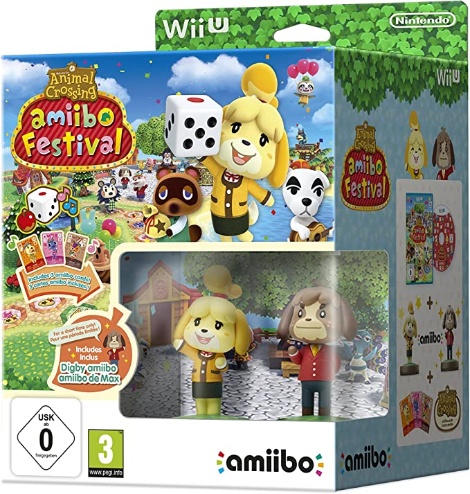 Animal Crossing: Amiibo Festival (Incluye 2 Figuras Amiibo + 3 ...