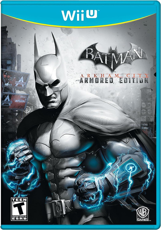 Amazon.com: Batman Arkham City: Armored Edition: Nintendo ...