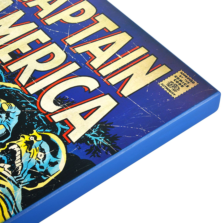 Amazoncom Vintage Comics Large Marvel Captain America Retro Comic Book