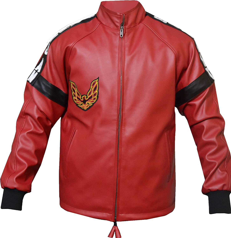 Smokey and The Bandit Burt Reynolds Faux Leather Red Jacket XXS-3XL