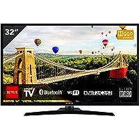 Hitachi 32HE4000 TV de 81 cm (32 Pulgadas) (Full HD, sintonizador Triple, Smart TV, WiFi, BT) [Clase energética A +]