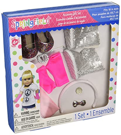 Kole Glitter Doll Accessory Gift Set