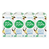 nutpods Dairy-Free Creamer Unsweetened (French Vanilla, 4-pack) - Whole30 Approved
