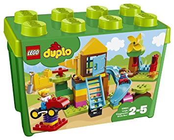 Lego 10864 Duplo My First Large Playground Brick Box Construction