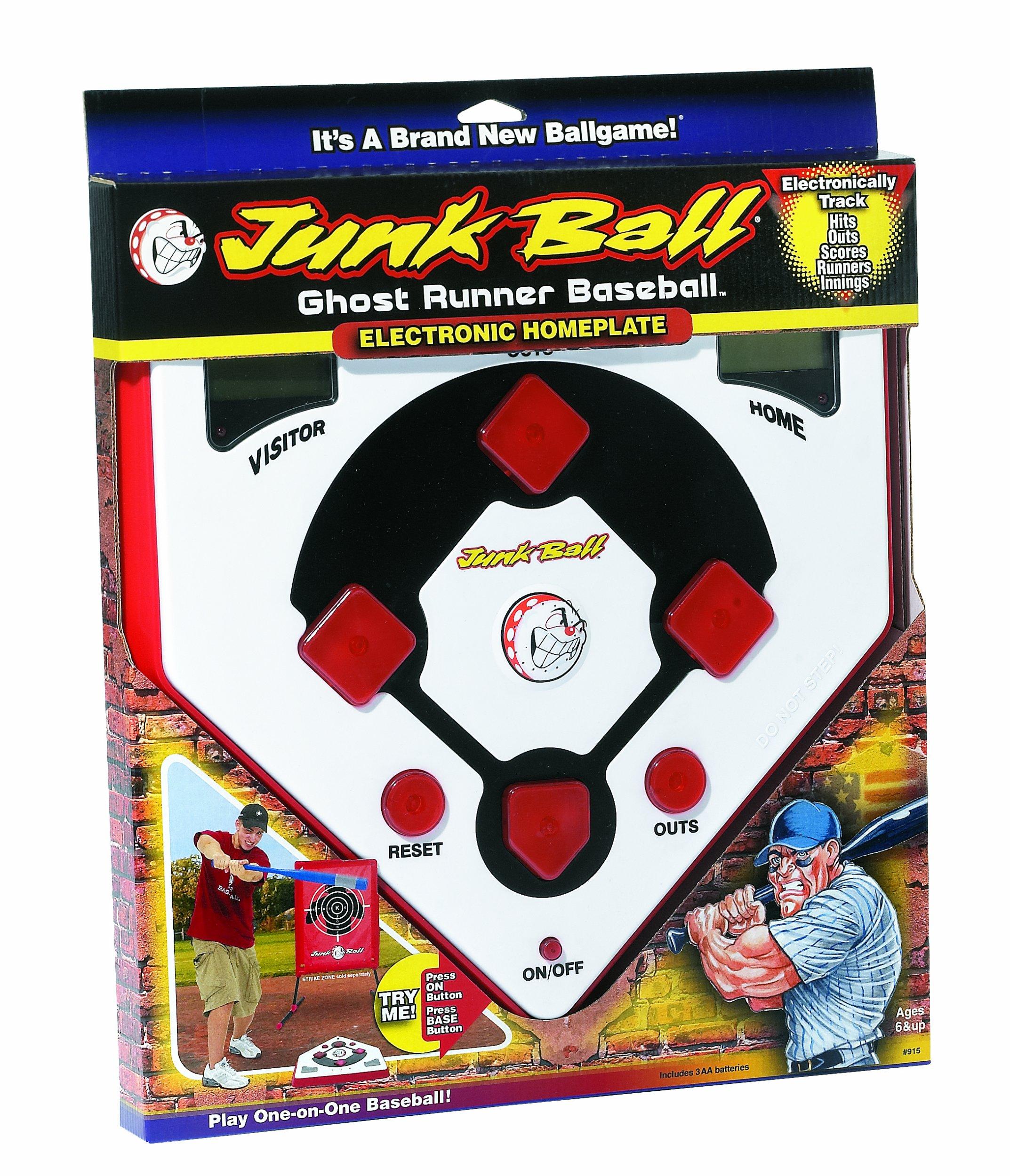 Little Kids Junk Ball Ghost Runner Baseball Electronic Home Plate by Little Kids