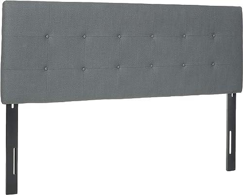 Best modern headboard: Sole Designs Ali Collection Padded Adjustable California King Sized Upholstered Bedroom Headboard