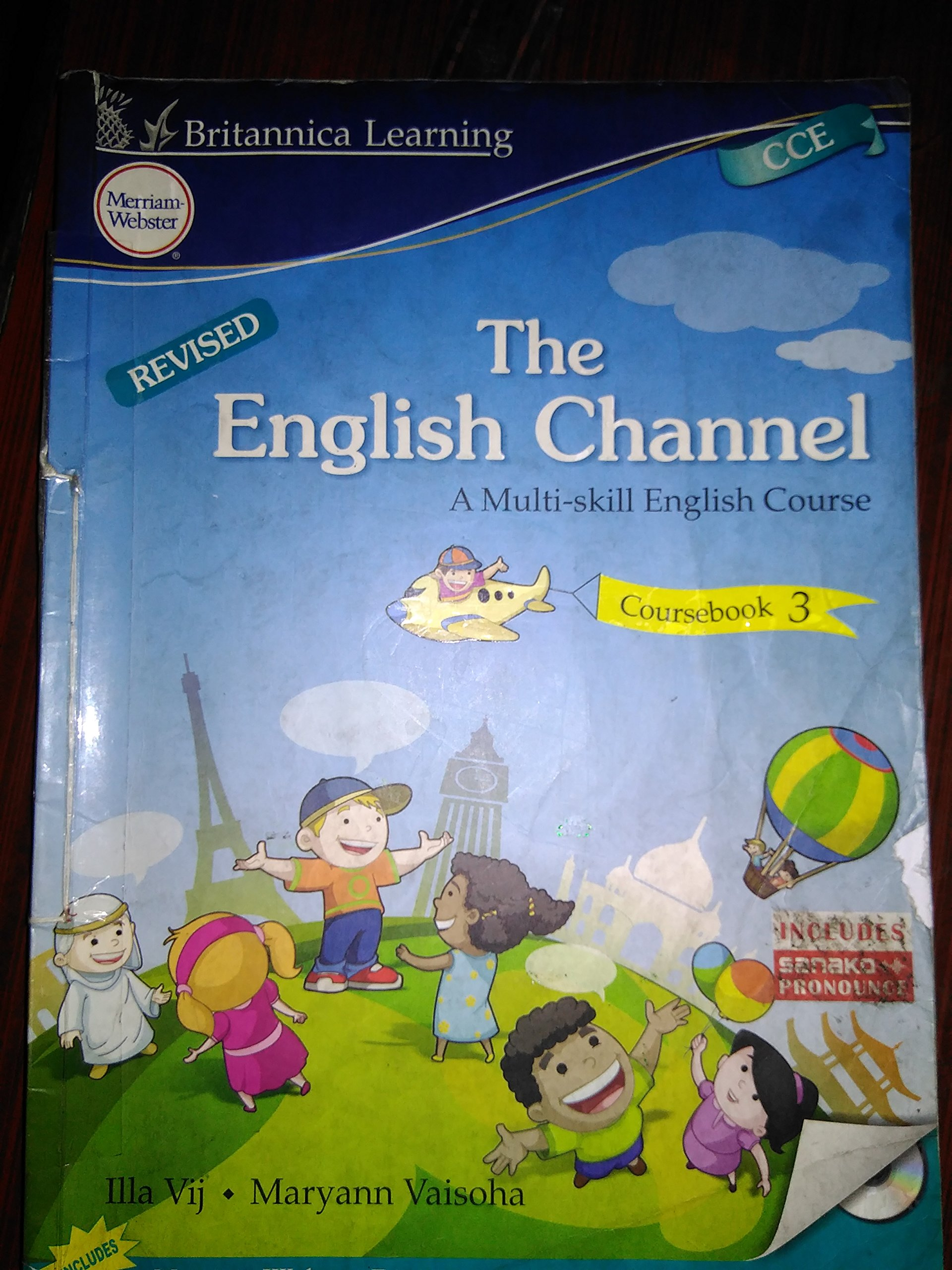 Buy The English Channel Course Book Class - 5 Book Online at Low