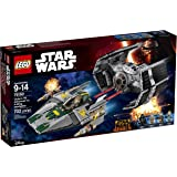 Lego Set de Construcción Tie Advanced de Vader vs. A-Wing Starfighter