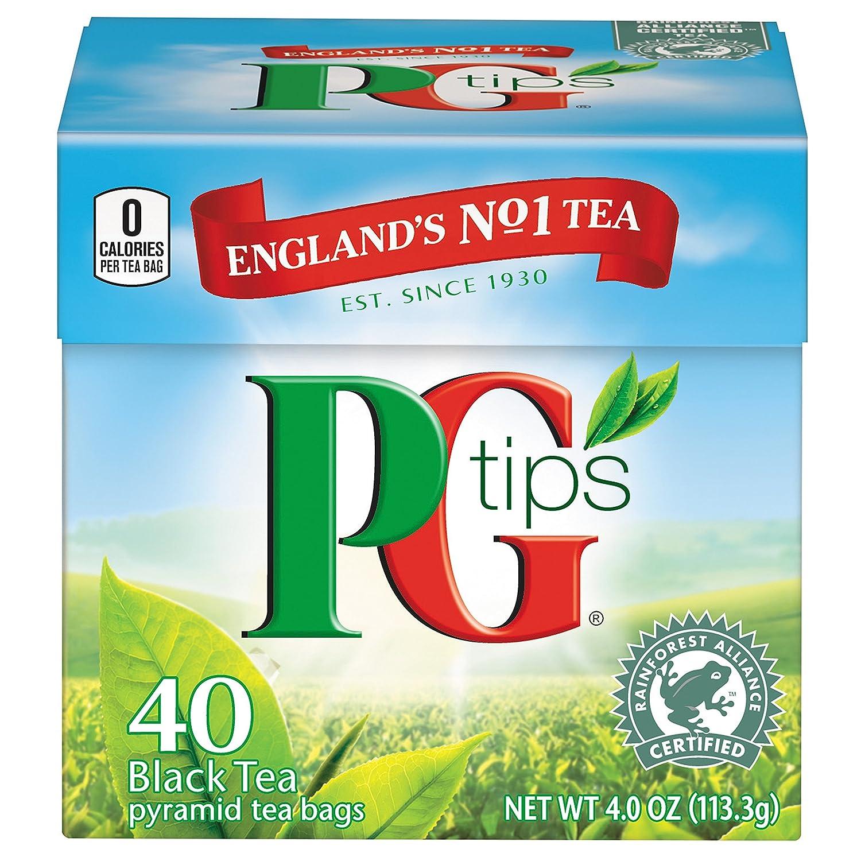 Bolsas de té negro premium PG Tips: Amazon.com ...