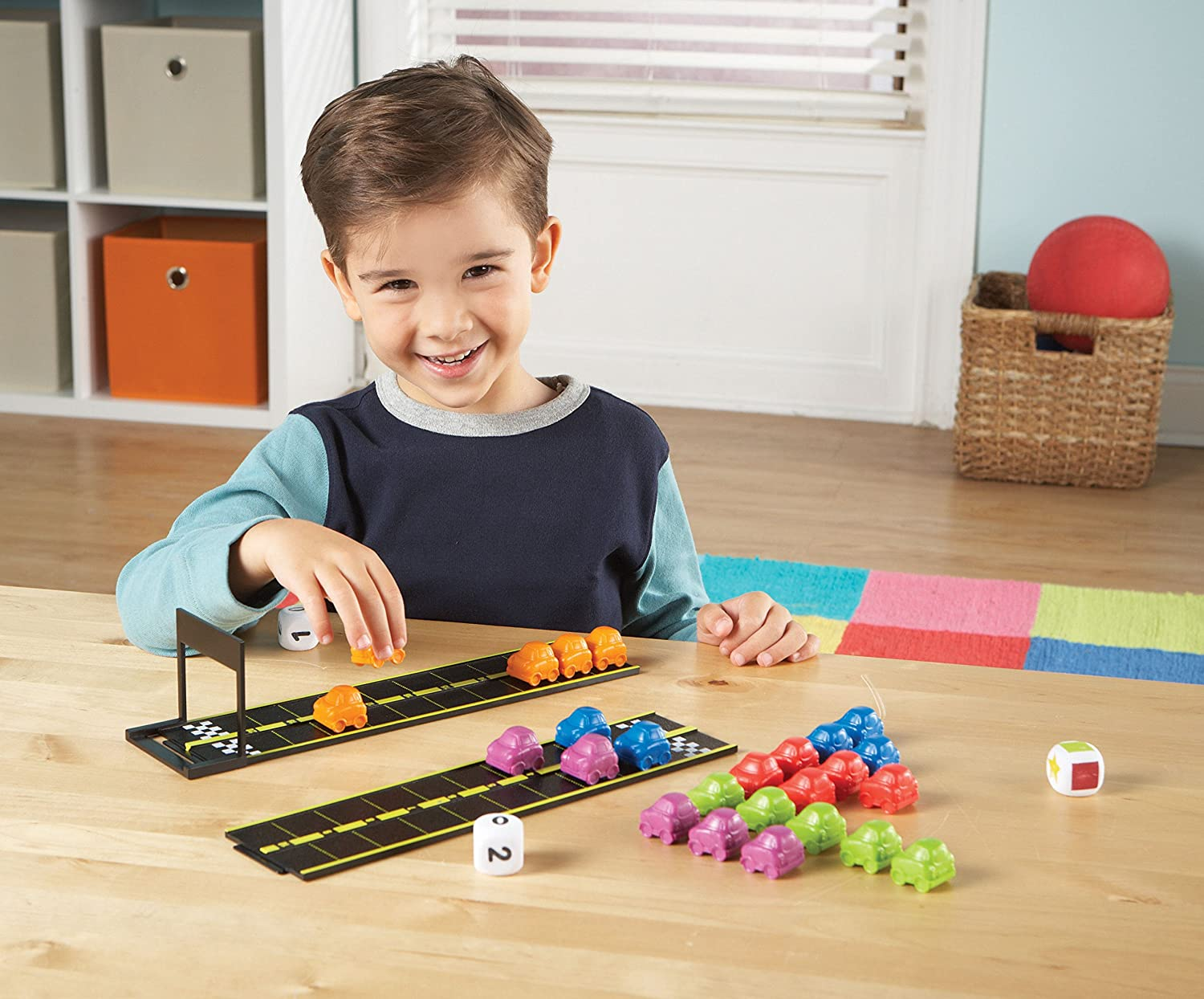 Learning Resources LER7731 Essentials Mini Motor Math Activity Set Toy