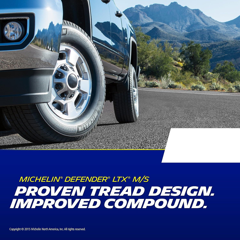 Michelin Defender LTX M//S all/_ Season Radial Tire-255//60R19 109H