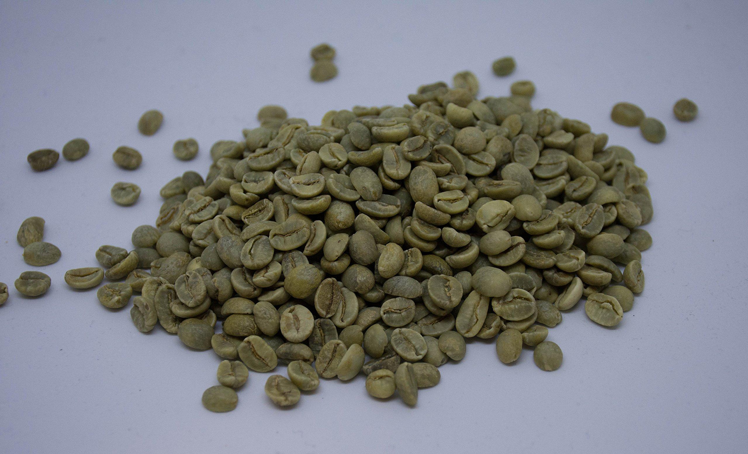 Law Coffee Green Coffee Beans -Sumatra Mandheling (5 lb)