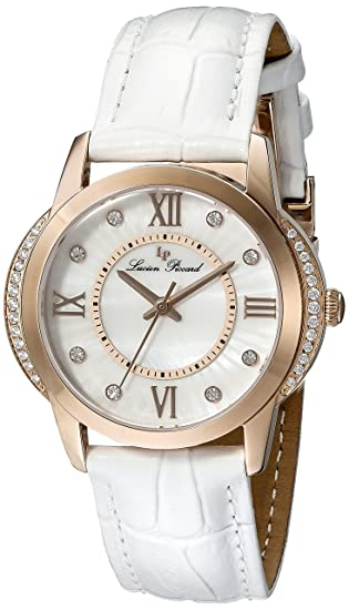 Reloj - Lucien Piccard - para Mujer - LP-40001-RG-02S-WHT: Amazon.es: Relojes