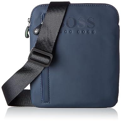 d37815b48f63 BOSS Athleisure Hyper T s Zip Env, Sacs portés épaule homme, Bleu (Dark Blue