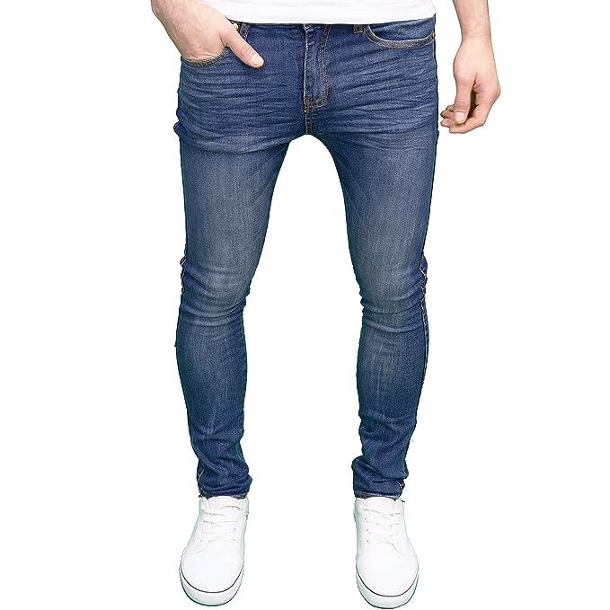 526Jeanswear – Pantalones vaqueros skinny fit para hombre ...