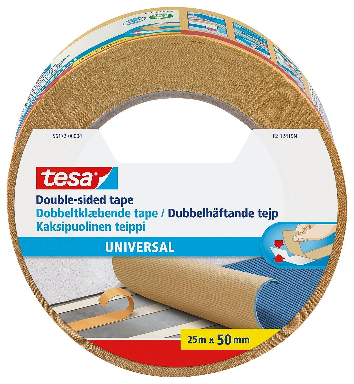 Tesa Ruban adhé sif double face 50 mm x 25 m 56172-00004-11