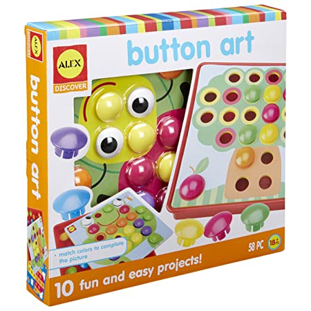 Amazon Com Alex Discover Button Art Toys Games
