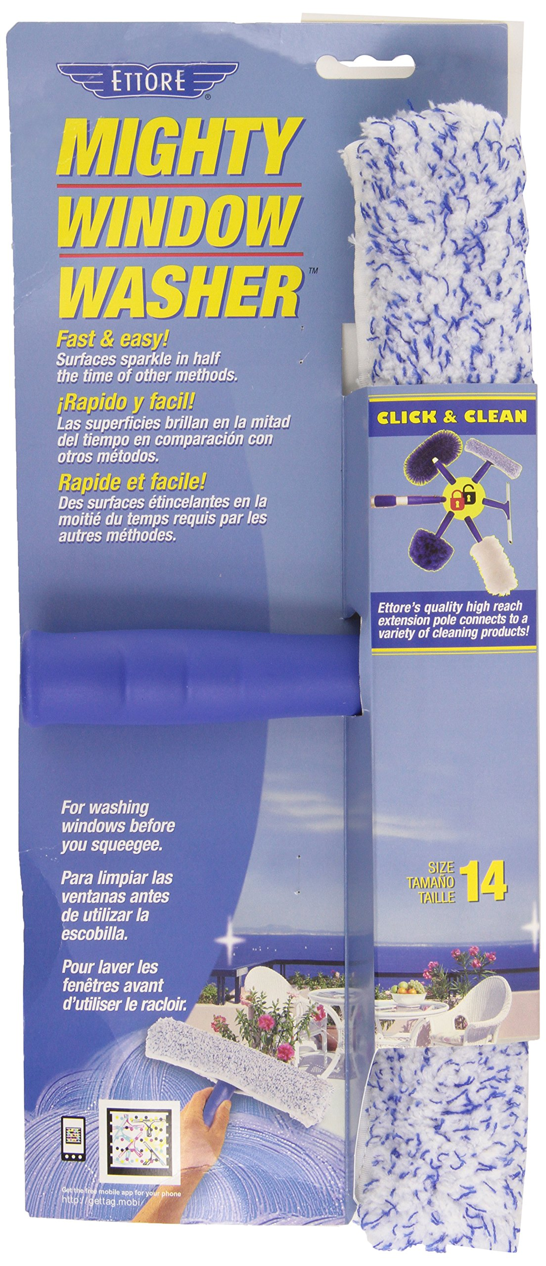 Ettore 50014 Mighty Window Washer, 14-Inch by Ettore (Image #2)