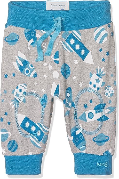 Kite Clothing Organic Cotton Baby Boy Grey Joggers Cosmos Print