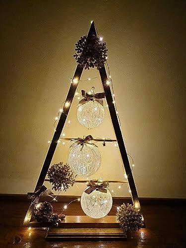 Albero Di Natale In Legno.Albero Di Natale In Legno Decorazione Natalizio Capodanno Feste Amazon It Handmade